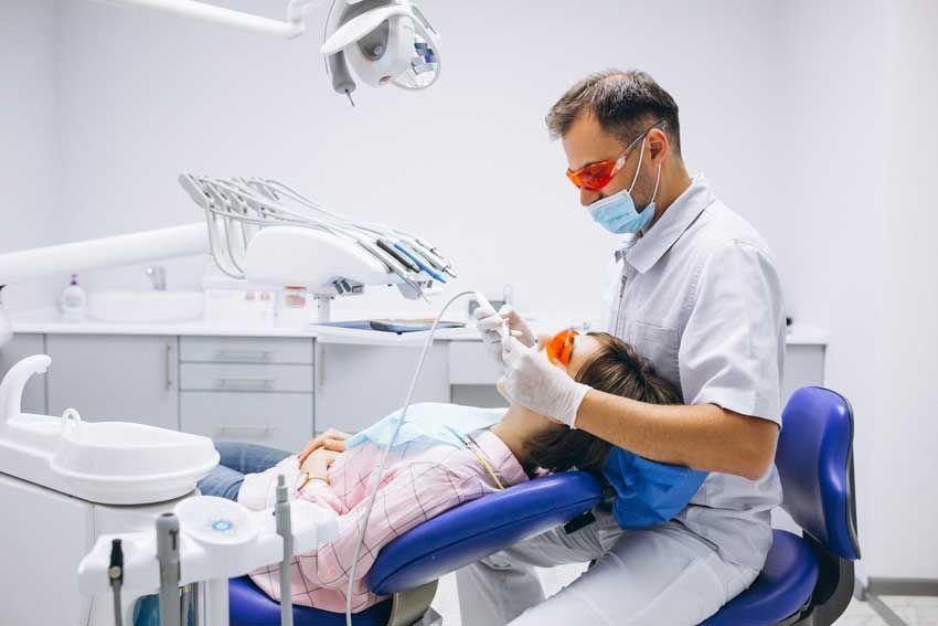 مراکز دندانپزشکی کرونا
