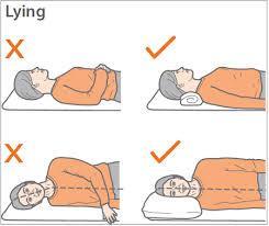 درست خوابیدن