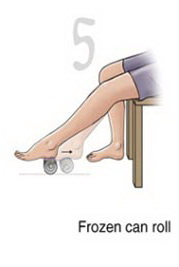 ورزش کف پای صاف