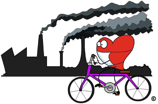 آلودگی هوا و بیماریهای قلبی